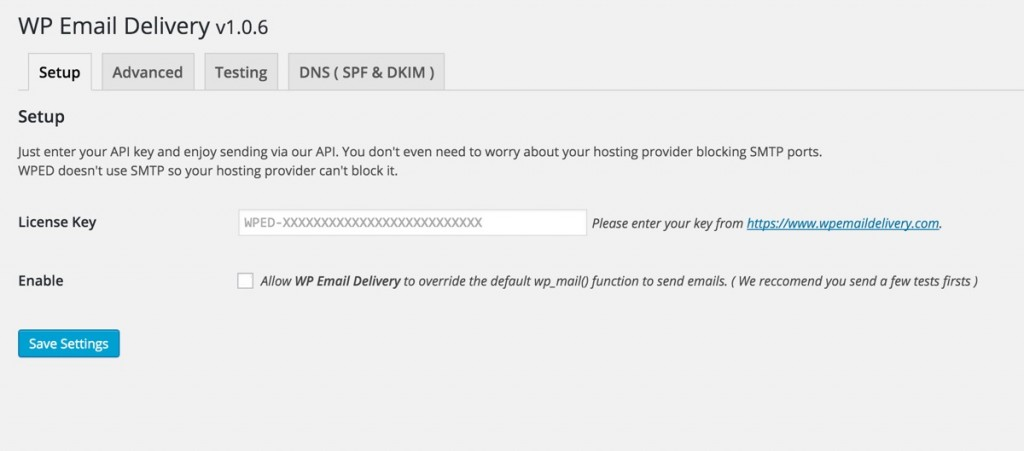 wp-email-delivery-setup